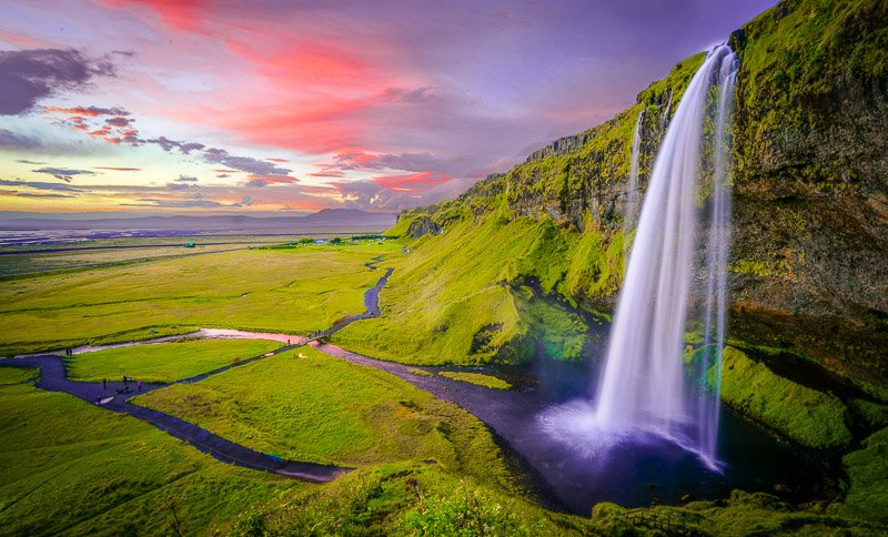 It doesn't get any more epic than Iceland.