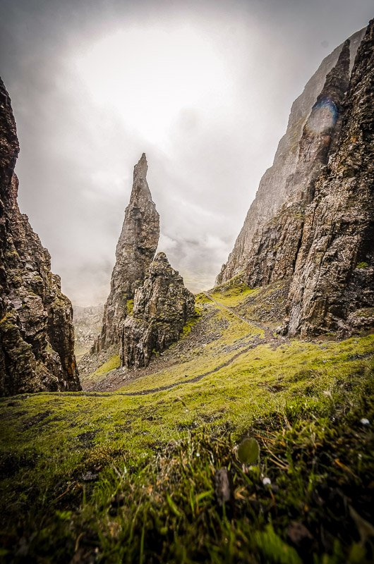 Otherworldly landscapes on the Isle of Skye.