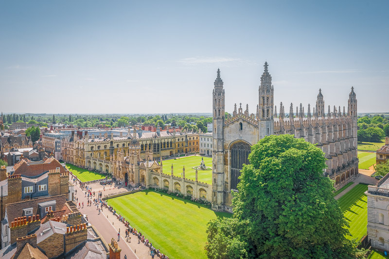 King's College Chapel is nothing short of extraordinary, and is among the most instagrammable places in England