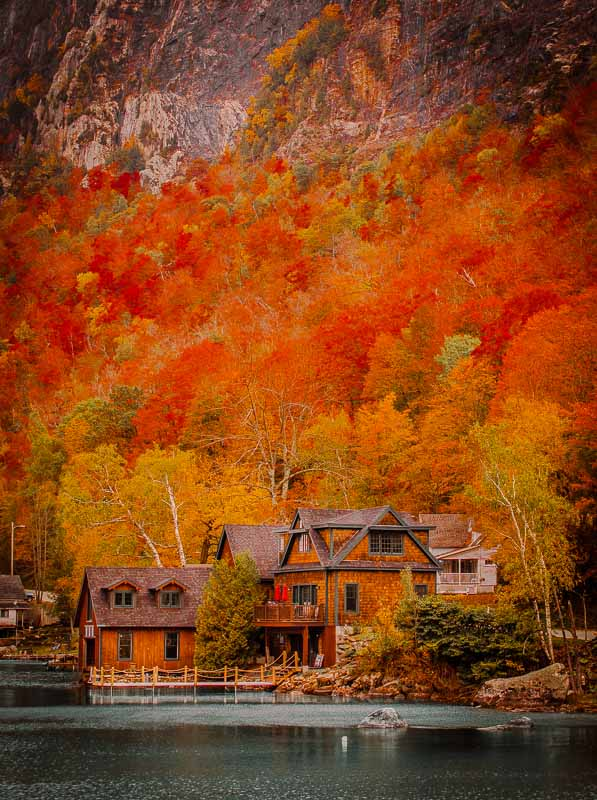 Fall is the best time to visit Vermont, and New England as a whole!