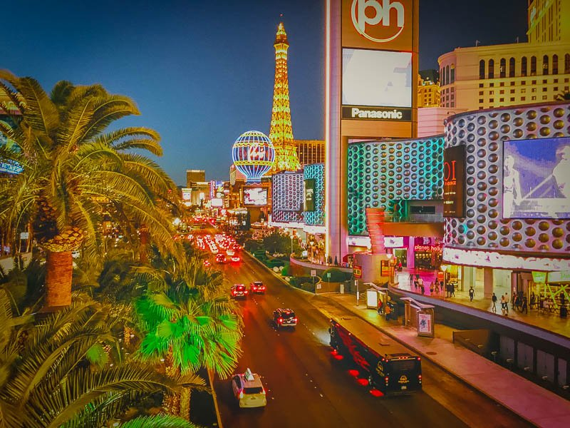 Las Vegas is a top vacation destination for groups of friends.