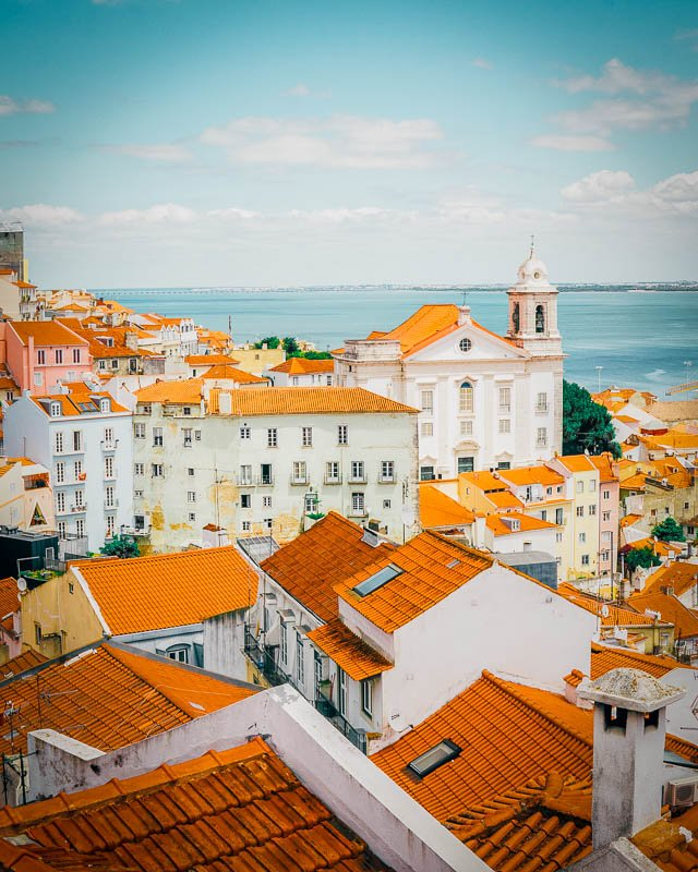 Lisbon is one of the cheapest European cities to fly to in Europe from the US