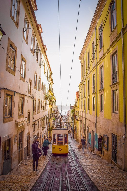 Lisbon, Portugal is one of the coolest places to travel with friends