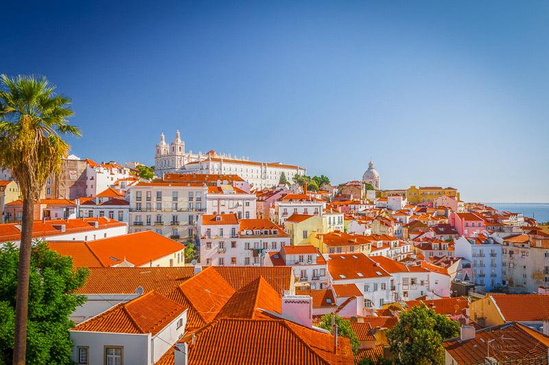 Lisbon's vibrant rooftops