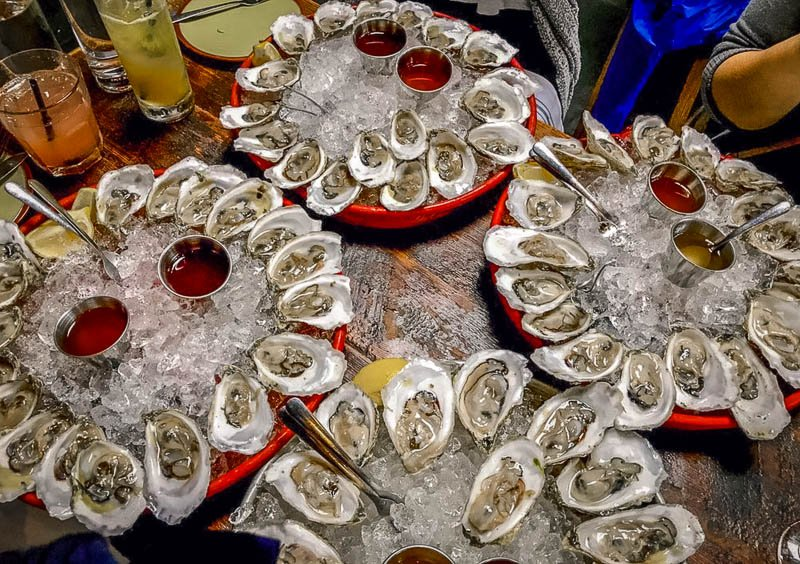 Oysters at Loco