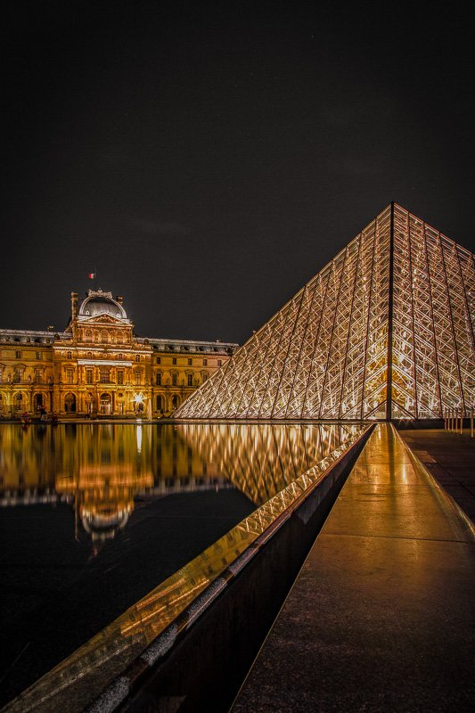 The Louvre Museum in Paris is among the coolest museums in the world.