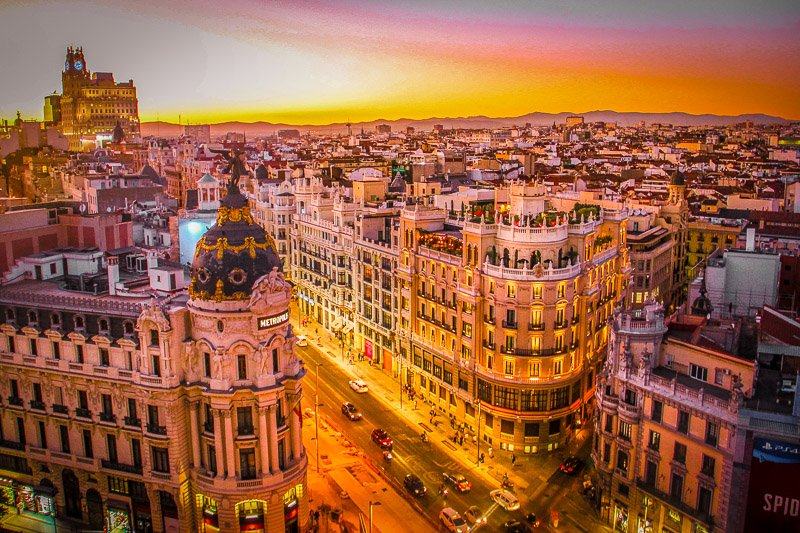Madrid is a sprawling metropolitan city in Europe that you should add to your bucket list.