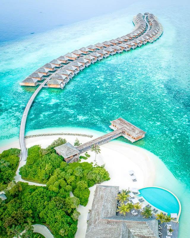 Hurawalhi Island Resort in the Maldives
