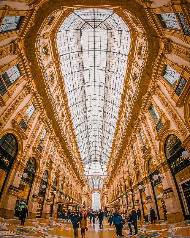 Milan is a paradise for shoppers and fashionistas