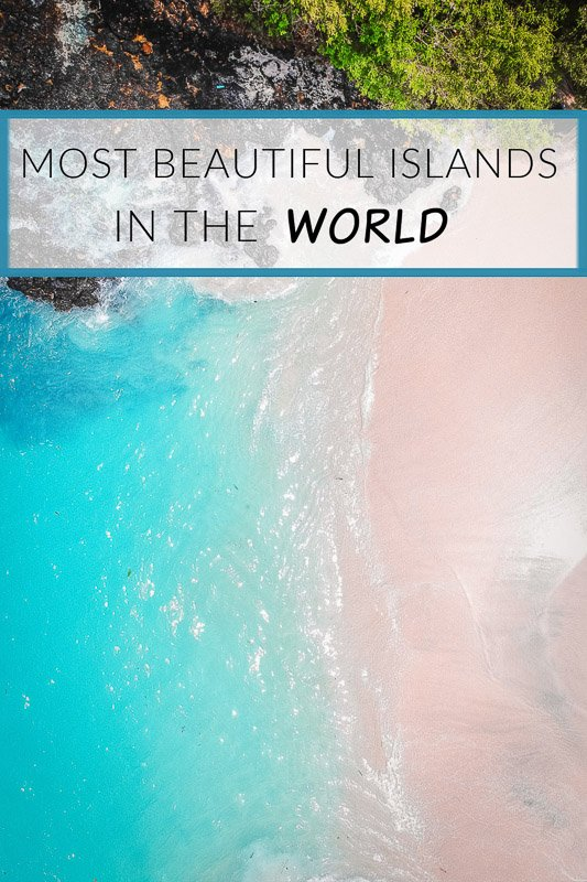 The 50 most beautiful islands in the world pinterest image pin