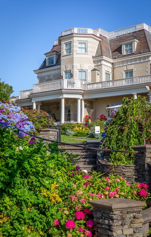The best time to visit Newport RI and New England is in the summer.