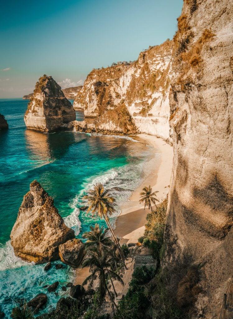 Nusa Penida is a beautiful island right next to Bali.