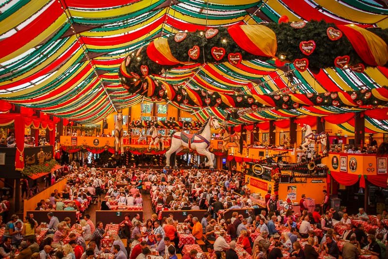 Oktoberfest is like Christmas for beer lovers.