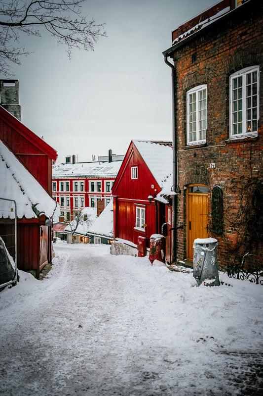 Oslo in the winter