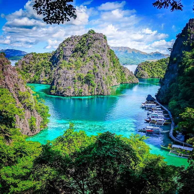 Palawan in the Philippines