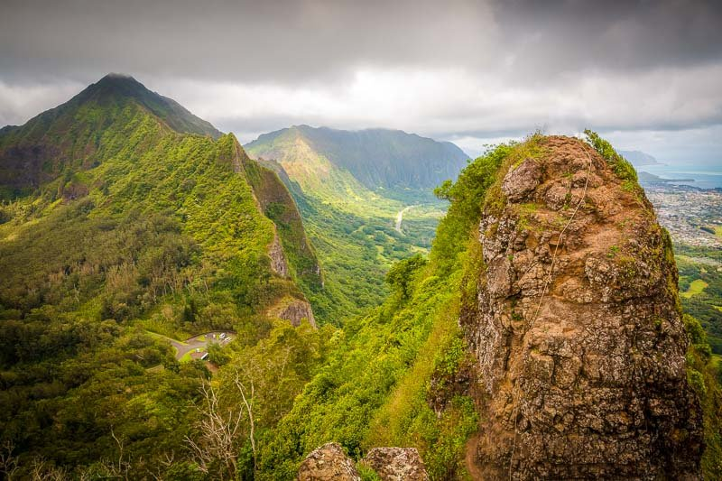 Hiking the Pali is one of the best fun things to do on Oahu