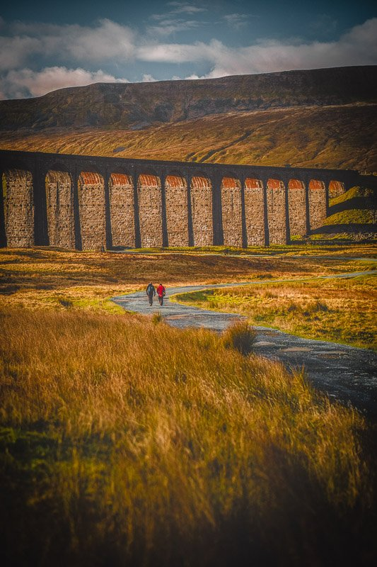 Ribblehead Viaduct is top among the most Instagrammable places in England and the UK.
