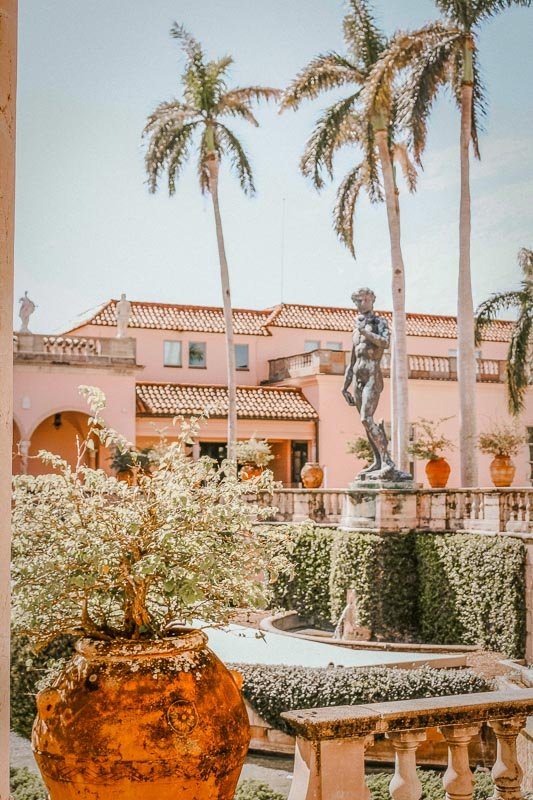 The John and Mable Ringling Museum of Art houses some of the best artwork in the US.
