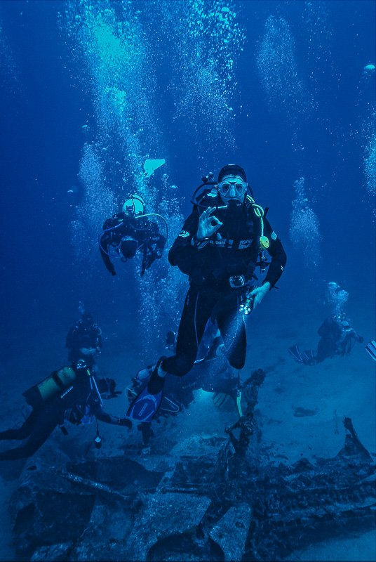 Diving is a fun aquatic activity for those who love the ocean