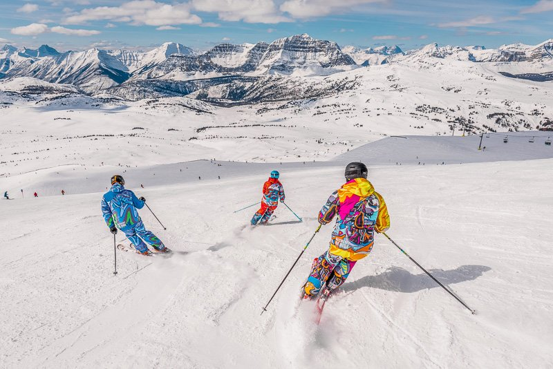 Being a ski instructor gives you lots of opportunities to travel