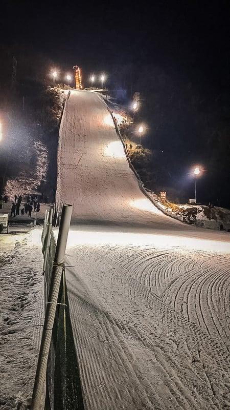 Snowflake Ski Jump in WI