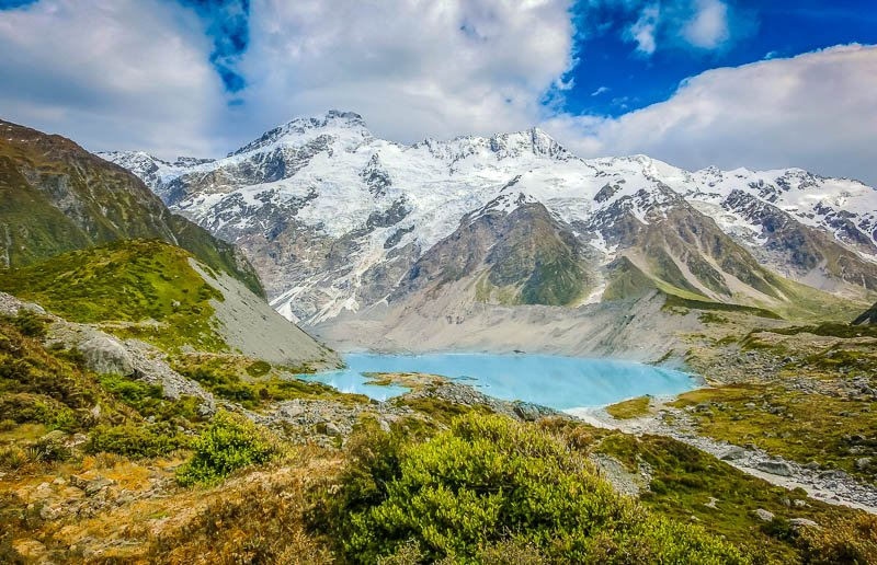 The South Island of New Zealand is perfect for alpine adventures.
