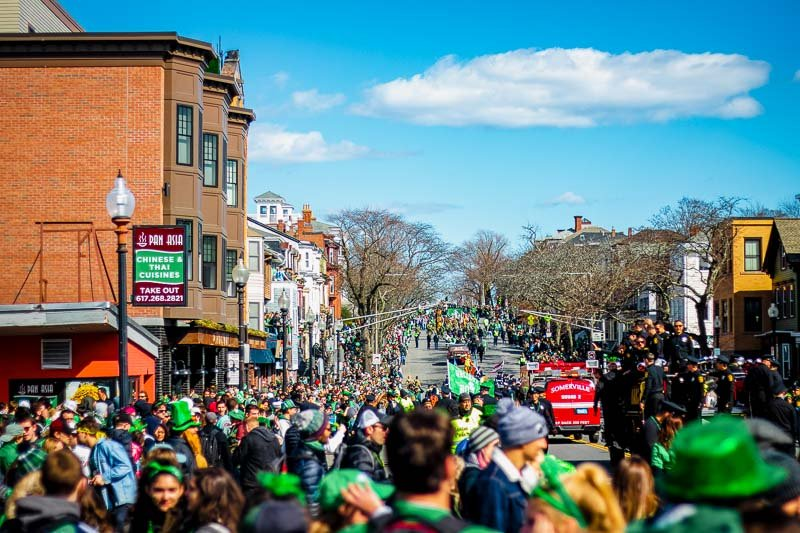 St. Patrick's Day is a bigger deal in Boston than it is in Dublin.