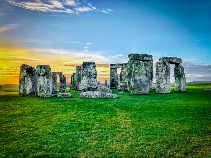 Stonehenge is among the most instagrammable places in England.