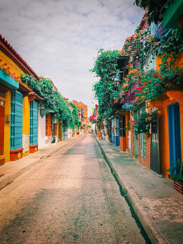 The vibrant streets of Cartagena are among the best places to travel with friends