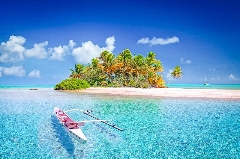 Tahiti is one of the most picturesque islands in the world.
