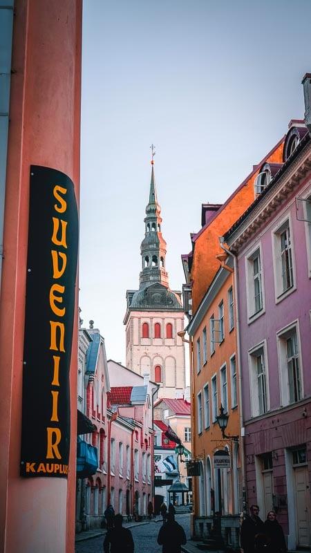 Every street inside Tallinn's city walls are worthy of a postcard.