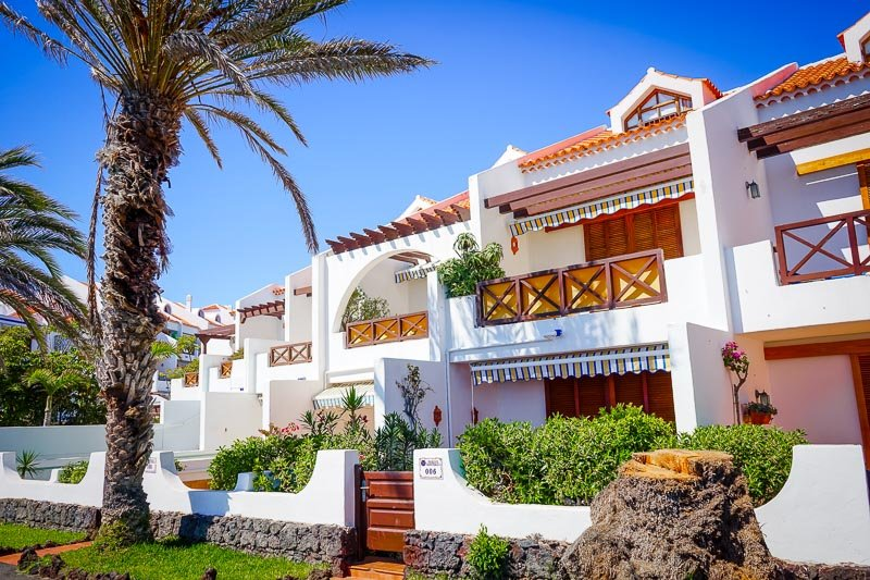 The villas in Tenerife are out of this world