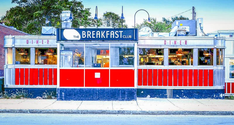 The Breakfast Club is among the coolest restaurants in the Greater Boston Area.