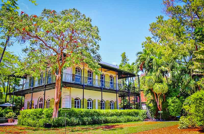 The Ernest Hemingway Home and Museum was the former residence of Ernest Hemingway, a renowned American writer