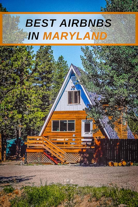 Top Airbnb vacation rentals in Maryland Pinterest Photo