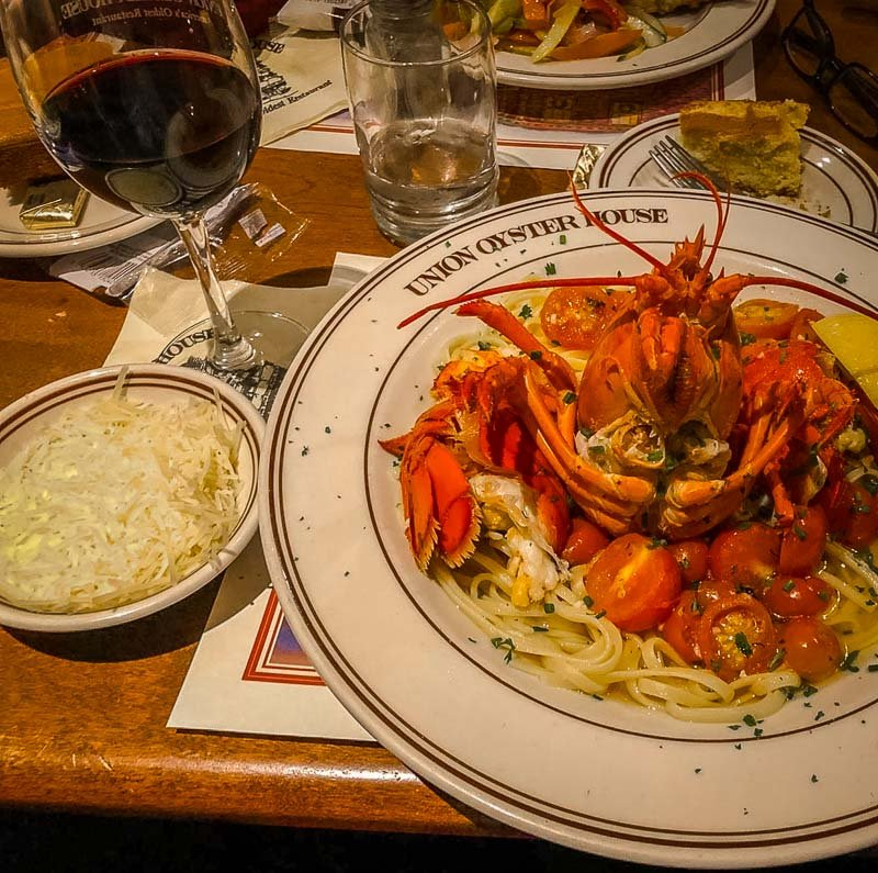 Lobster at Union Oyster House
