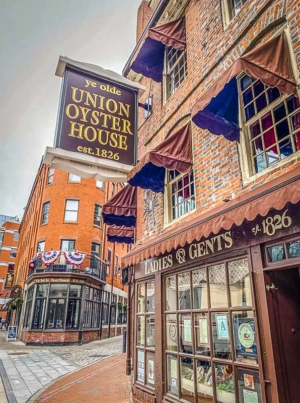 Union Oyster House is a unique restaurant in Boston