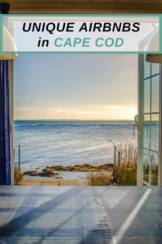 Best Airbnbs in Cape Cod for large groups, families, romantic couples, and more.