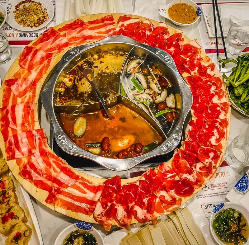 Liuyishou Hotpot is one of the most unique restaurants in Boston.