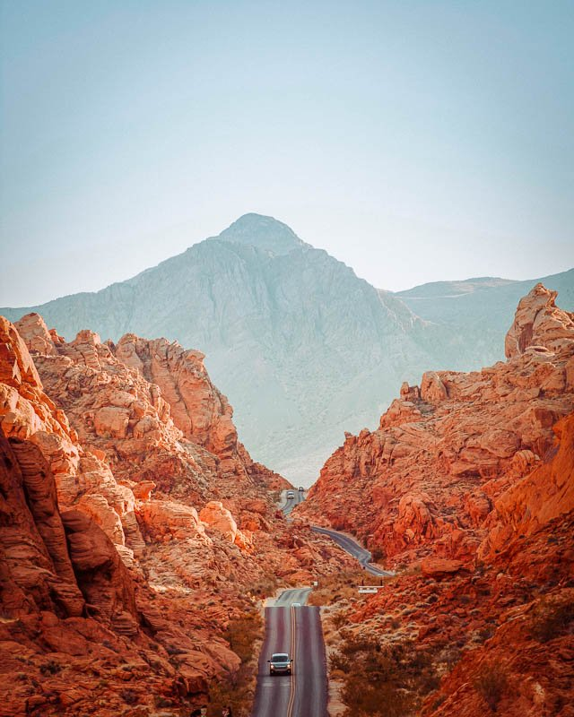 Valley of Fire in Nevada is a must-see on a Southwest road trip.