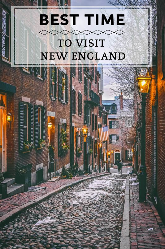 When to go to New England in 2021 Pinterest Photo