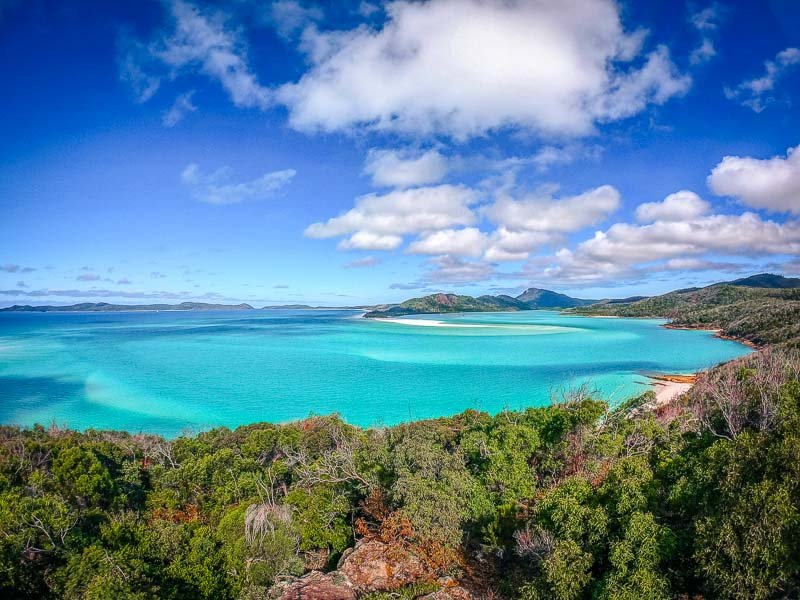 The Whitsunday Islands in Queensland, Australia.
