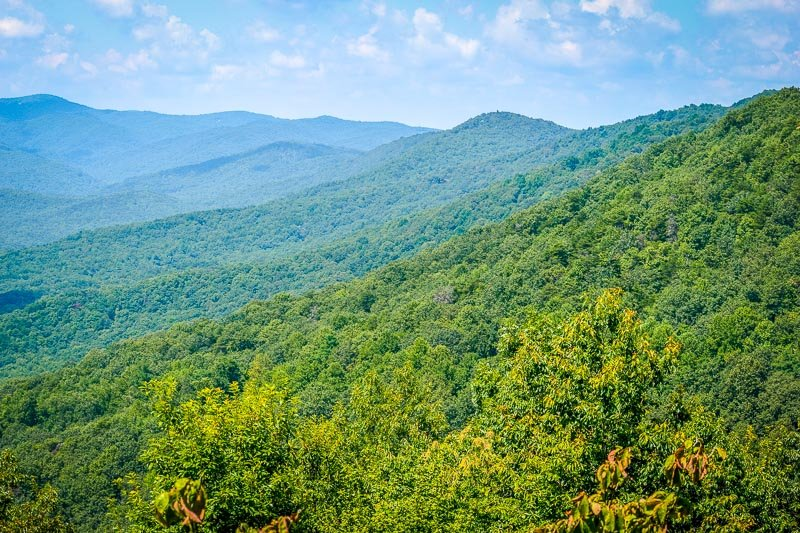 Dahlonega lies at the foothills of the Blue Ridge Mountains, which is among the most unique places to visit in georgia
