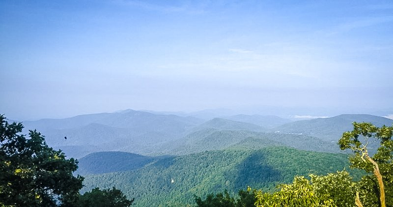 Located near Helen, Georgia, Blood Mountain is one of the most popular nature spots in Georgia.