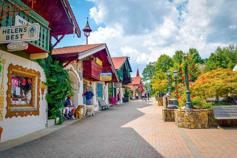 This charming mountain town is one of the best places to visit in Georgia.