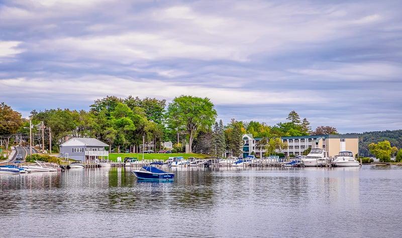Lake Winnipesaukee is a popular summer destination.