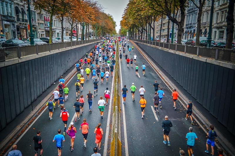 Running a marathon is the ultimate bucket list idea.