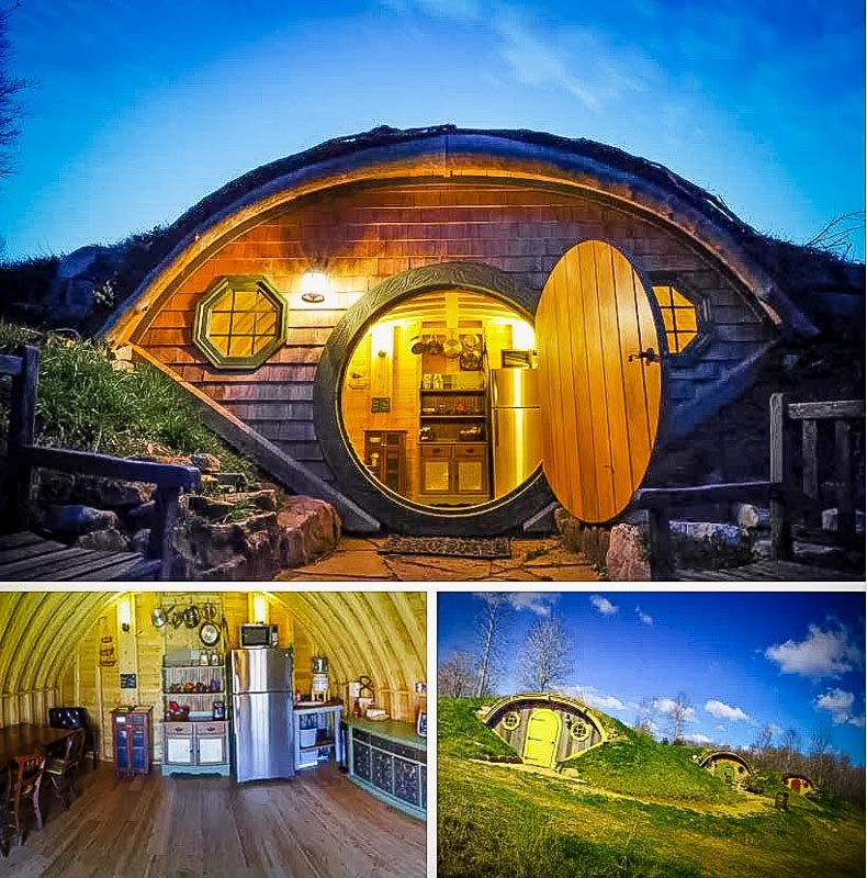 A Tennessee hobbit house with enchanting vibes.