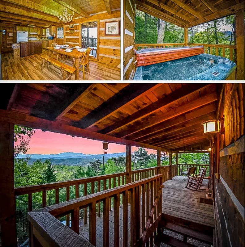 Unique cabin rental for long term stays in Tennessee