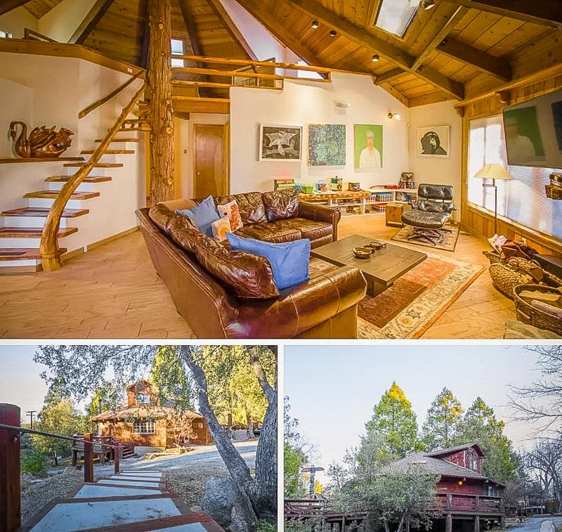 This home near Los Angeles is among the most unique Airbnb treehouses in all of California.